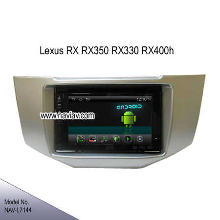 android 4.2 lexus rx rx350 rx330 rx400h radio dvd player gps wifi 3g