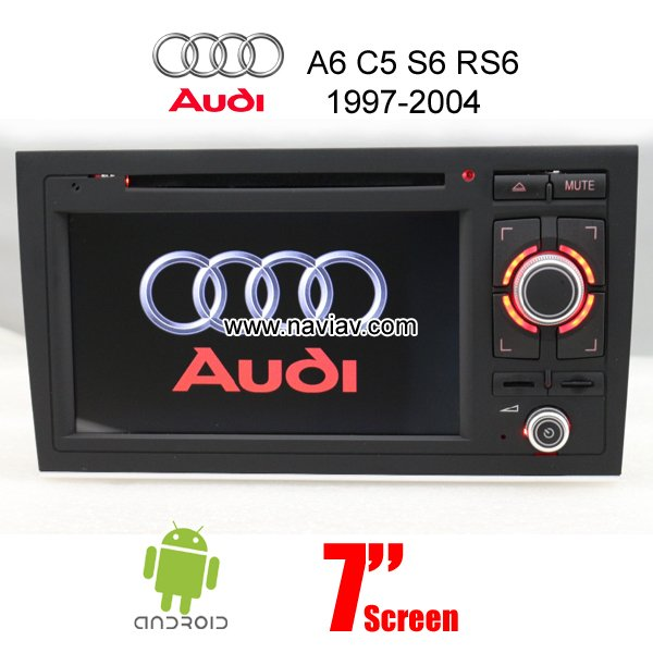 Audi A6 C5 S6 Rs6 1997 2004 Android Car Radio Wifi 3g Dvd Player